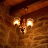 A light in Le Moulin Girard